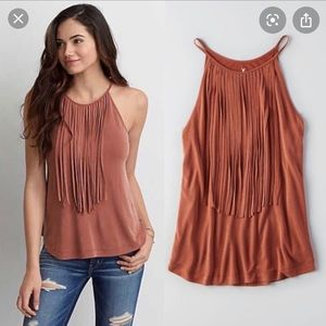 American Eagle Soft & Sexy Fringe Tank
